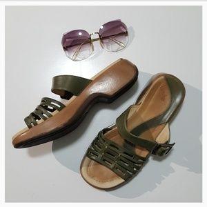 Dansko Olive Green Sandals